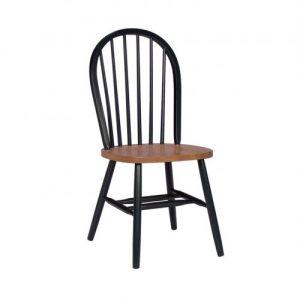 kursi makan kayu retro