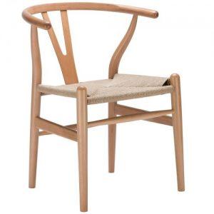 kursi makan anyaman tali
