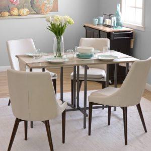 set meja makan minimalis