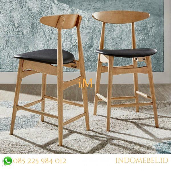 kursi bar kayu
