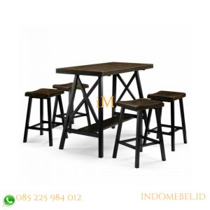 set meja bar industri