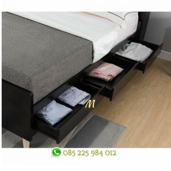 set tempat tidur laci
