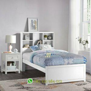 tempat tidur rak minimalis