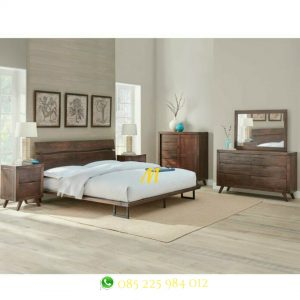 kamar set minimalis industrial