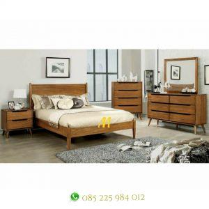 kamar set retro kayu