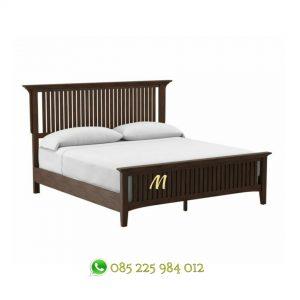 tempat tidur murah kayu jati