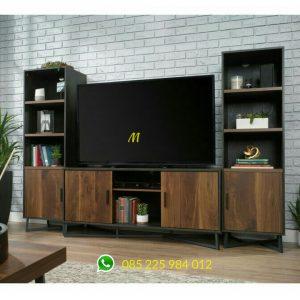 set meja tv industrial