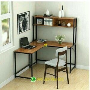 meja kantor industrial minimalis