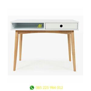 meja kerja minimalis modern scandinavia adly