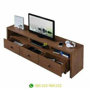 meja tv minimalis murah kayu jati