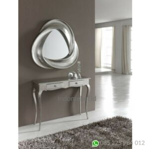 Console Table Mewah model bunga,